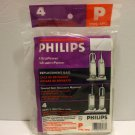 Philips Type P Replacement Vaccum Bags For Upright Vaccums