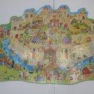 Castle Shaped Jigsaw Puzzle 80 pieces  Ages 6+