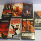 Lot 7 VHS Videos English Canada And US Only