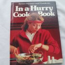 In-a-Hurry Cookbook HARDCOVER Better Homes and Gardens