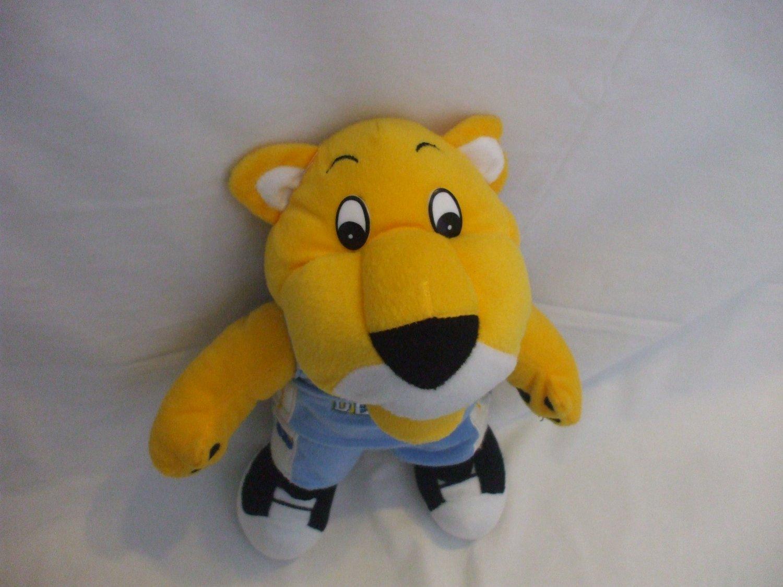 Rocky Cheetah Yellow Plush Stuffed Animal Toy 14 Inches Tall Boys Girls