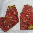 Disney Pixar Lightning McQueen Red And Yellow 2 Pcs Pyjama Set Unisex Size 4