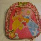 Disney Princess Pink Nylon Back Pack School Bag With Adjustable Shoulder Straps