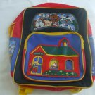 Red And Yellow Kids Back To School Bag With Adjustable Shoulder Straps