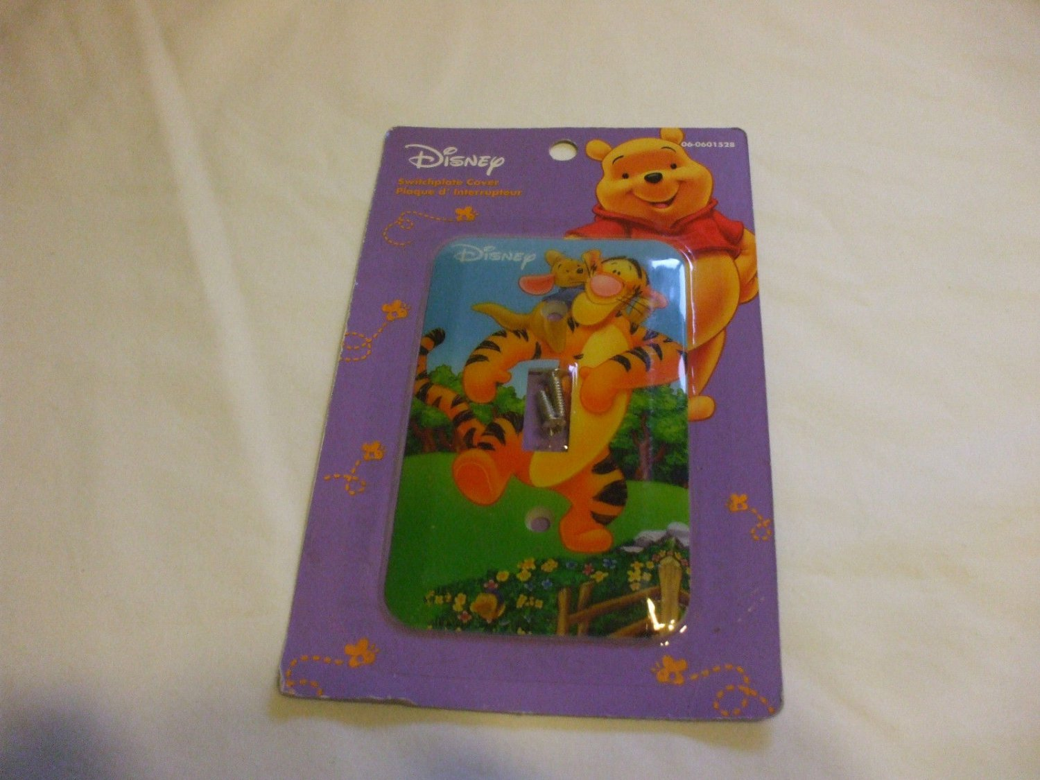 Disney Winnie The Pooh Characters Light Switch Plate Cover Tigger And Piglet