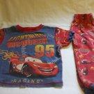 Toddlers Unisex Disney Pixar Lightning McQueen Red Pyjamas 18-24 months