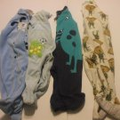 4 Baby Rompers 6-9 Months Cotton Blends