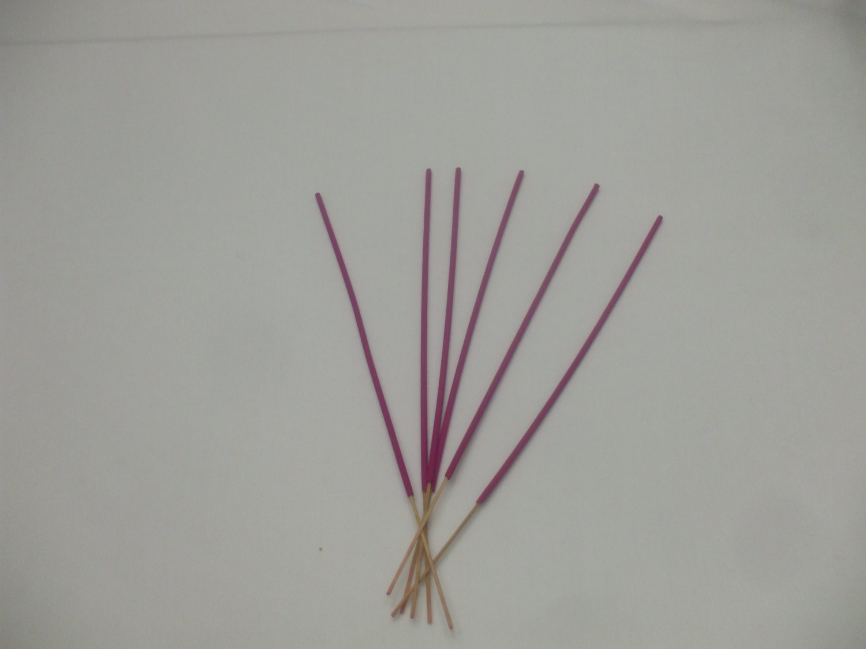 6 Rose Incense Sticks For Love, Romance, Meditation