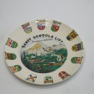Banff Canada Decorative Porcelain Plate 9 Inches Round