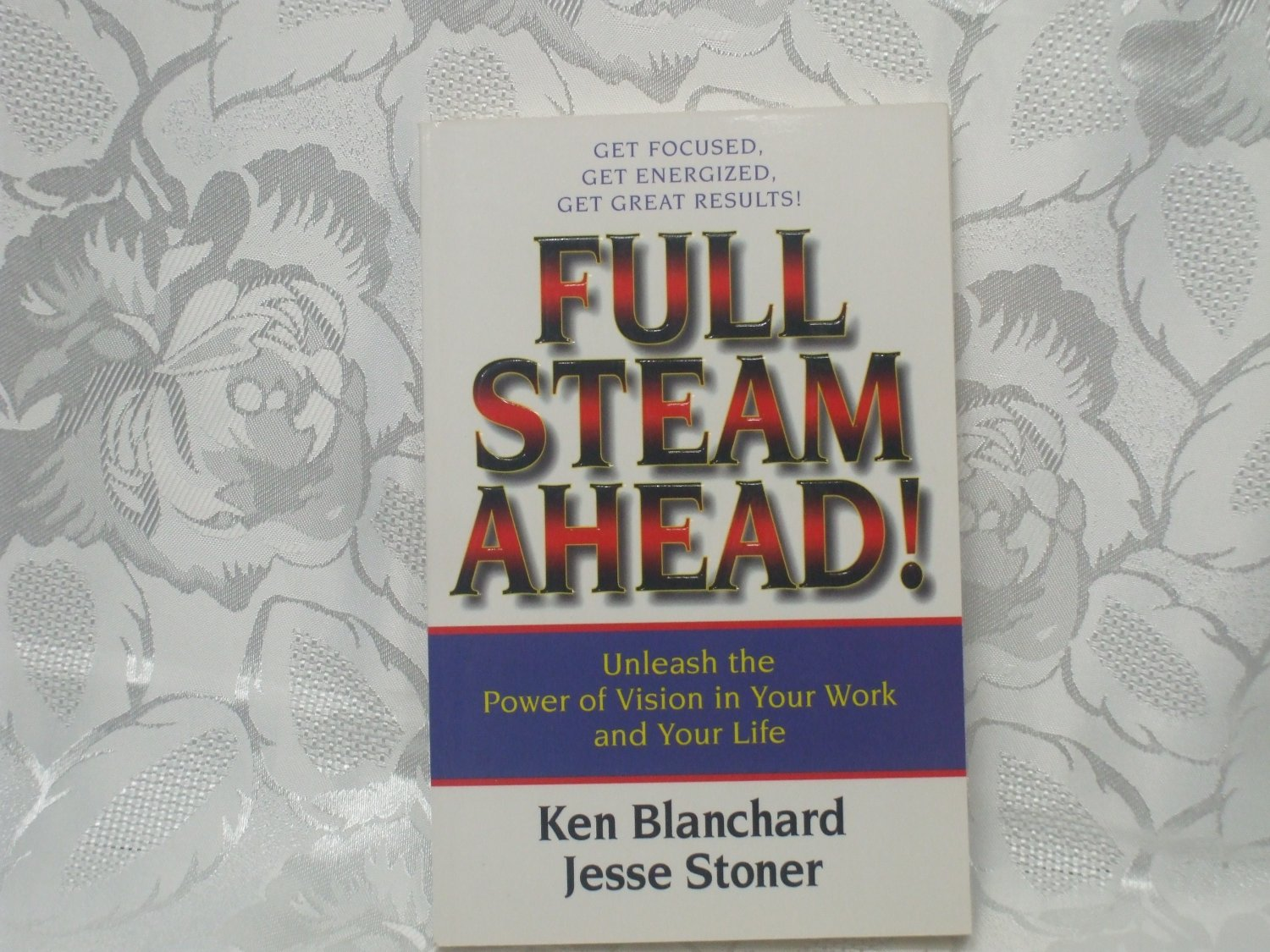 Full steam ahead unleash the power of vision in your work and your life Ken Blanchard