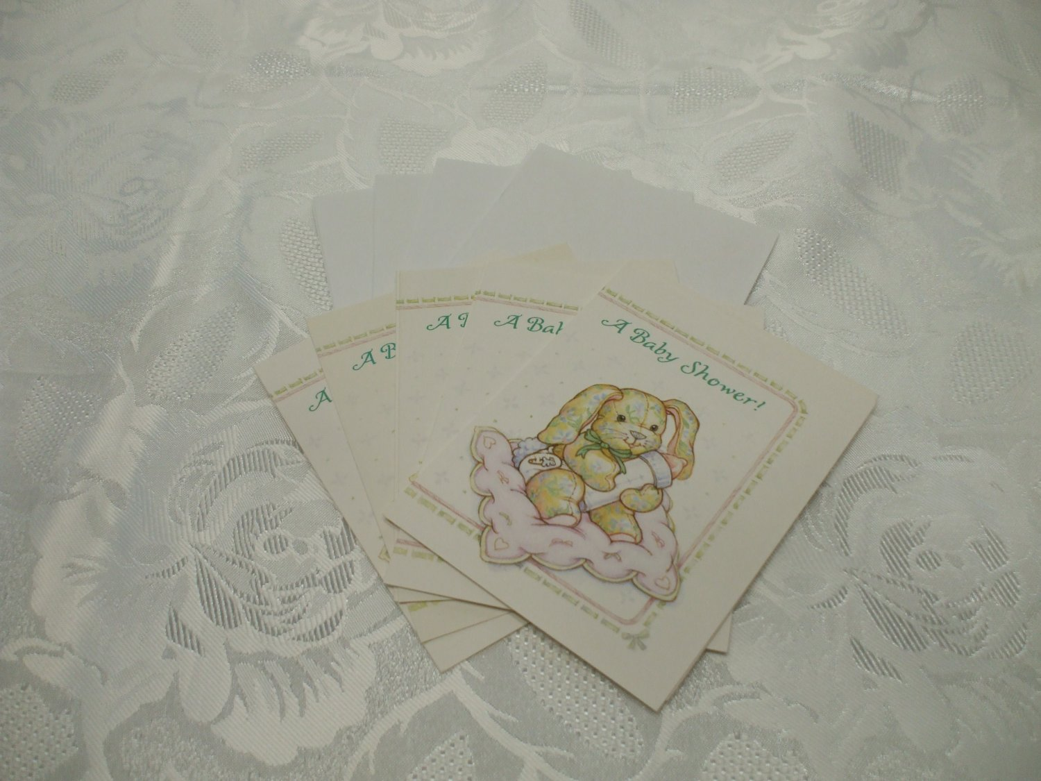 Baby Shower Invitation Pack Of 8 Cards With Envelopes