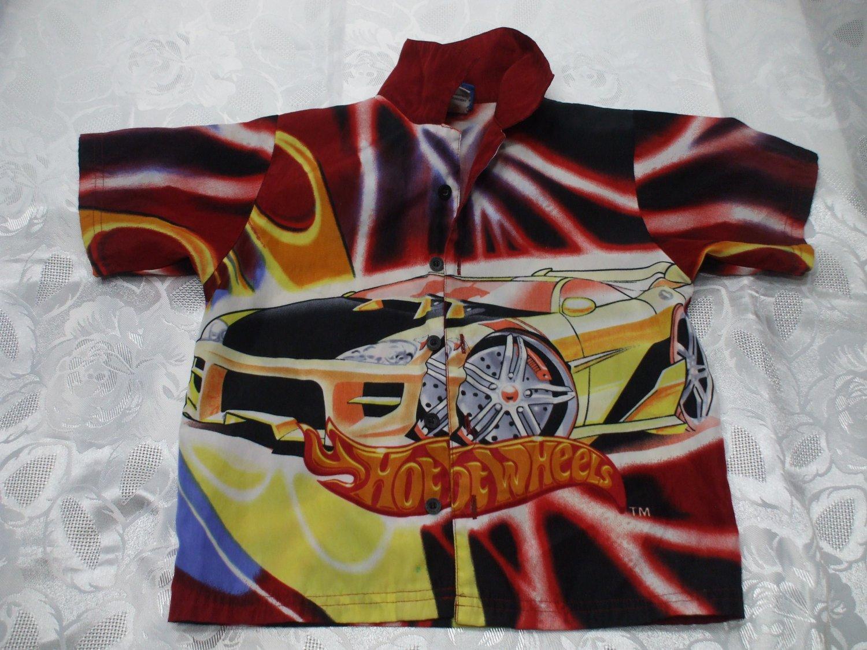 Hot Wheels Short Sleeve Shirt Size 5