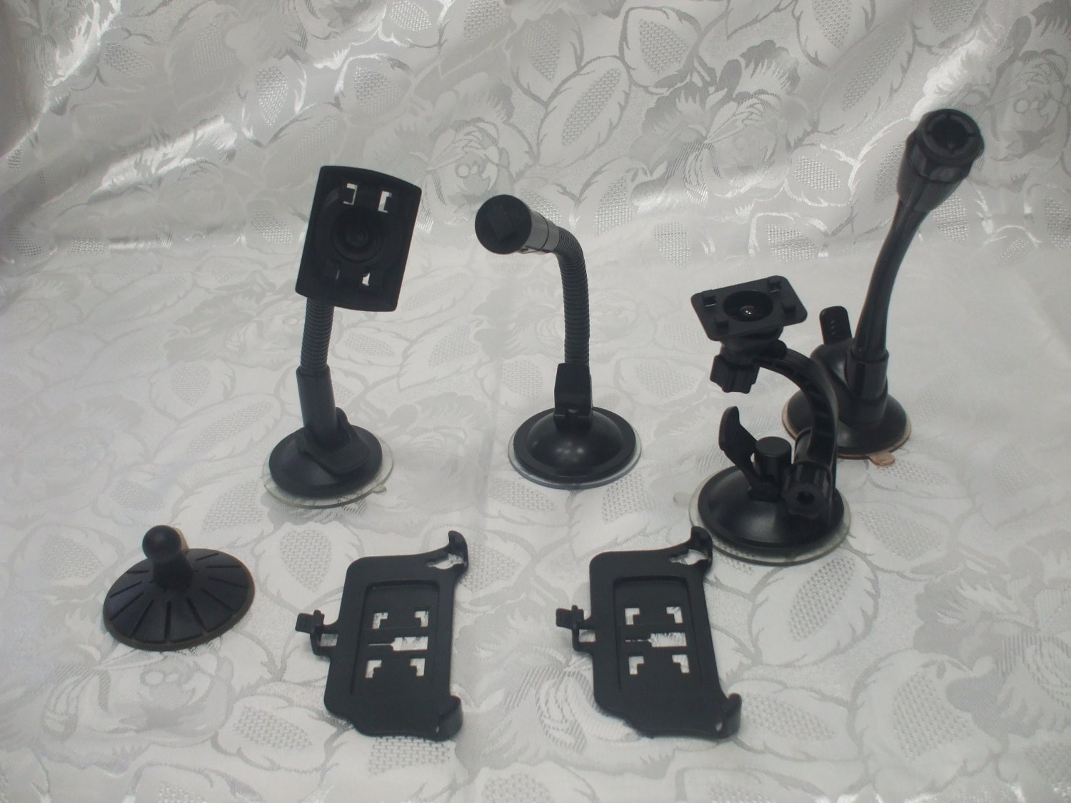 Lot 7 Pcs Hands Free Cell Phone Car Mount Holders. Replacement Parts