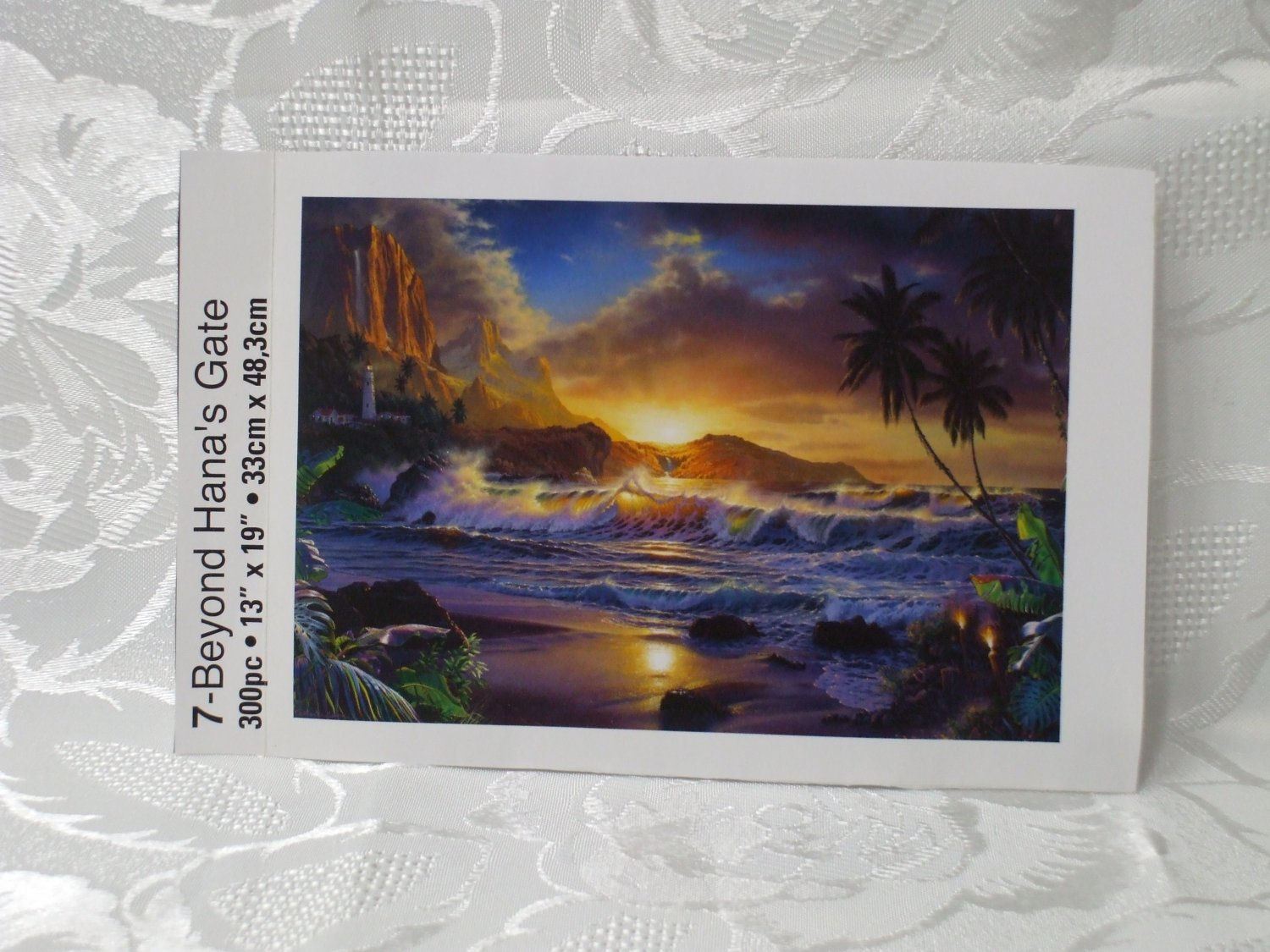 300 Pc Beyond Hana's Gate Puzzle  13 in x 19 in NO BOX