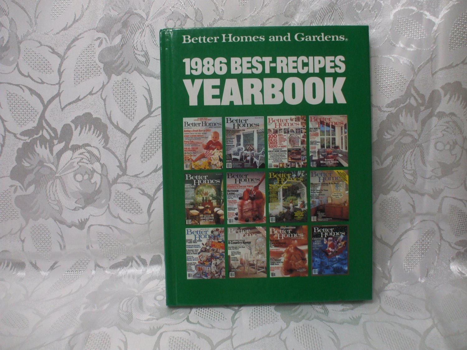 Hardcover Better Homes And Gardens 1986 Best Recipes Yearbok