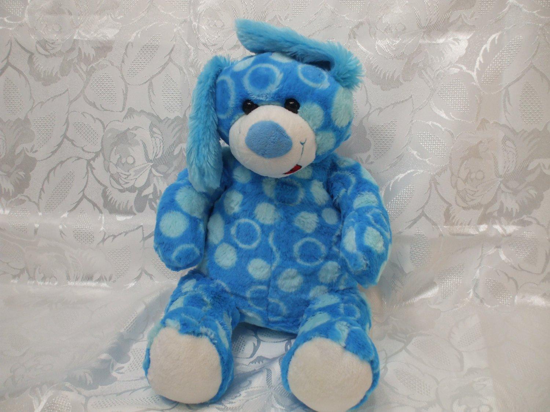 Plush Toy Animal Blue Rabbit 15 Inches Tall Boys Girls Teddy Mountain