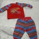 Lightning McQueen 2 pc pyjamas Baby 6 Months