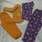 Lot of 2 Girls Pyjamas Size 3 & 3T