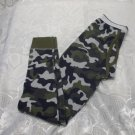 Boys Camouflage Long John Bottoms L 10-12 Years Old