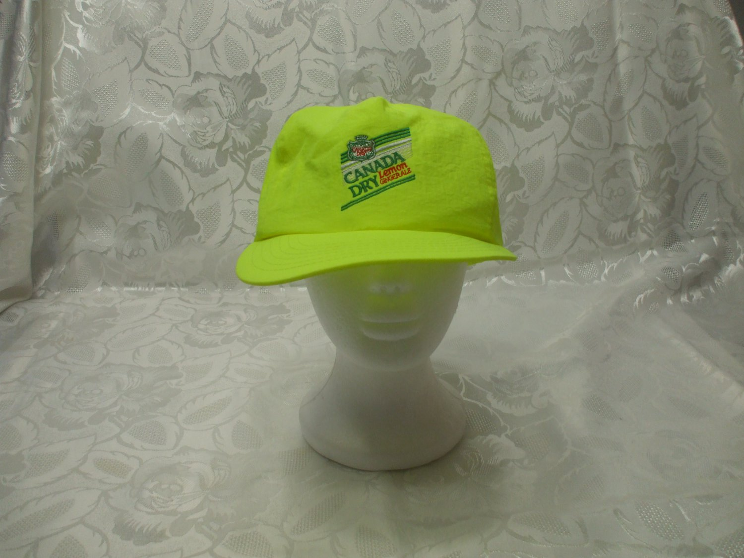 Canada Dry Yellow Baseball Cap One Size Fits All