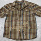 Toddler's brown short sleeve shirt 4 years old