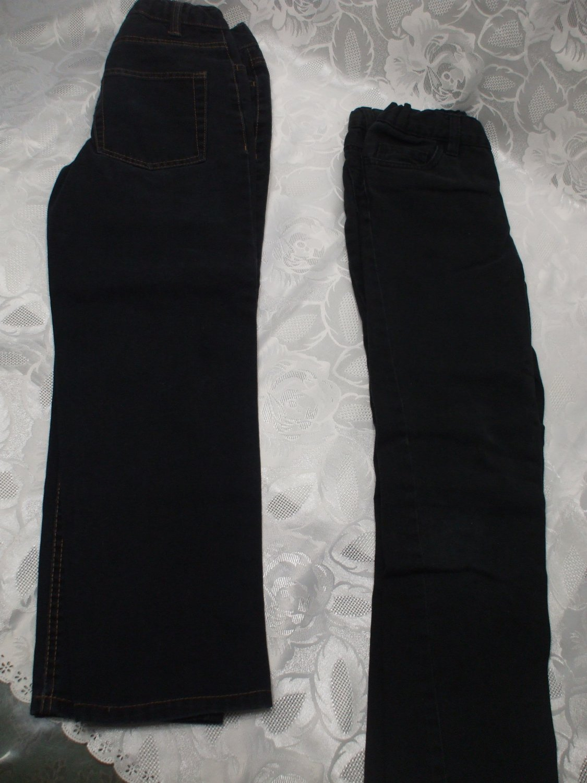 Lot of 2 Boys Black Jeans size 8
