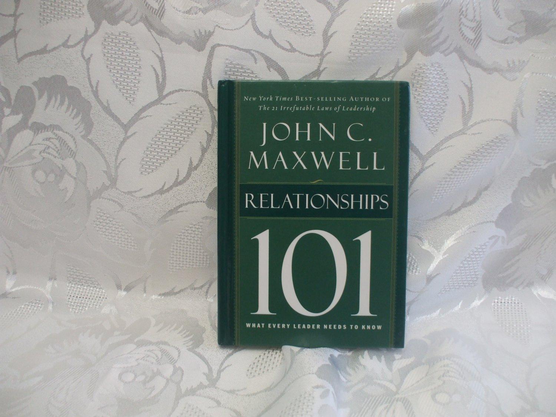 101 Relationships Hardcover