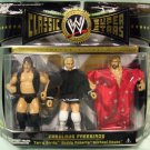 wwe/wwf ljn hasbro classic superstars 3 pack terry gordy, buddy robert's & michael hayes figures