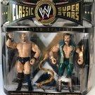 wwe/wwf ljn hasbro classic superstars 2 pack steve austin & jake roberts wrestling figures