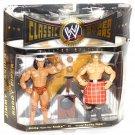 wwe/wwf ljn hasbro classic superstars 2 pack jimmy snuka & roddy piper wrestling figures