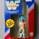 "wwf ljn hasbro wrestling superstars 6"" ultimate warrior battery powered toothbrush figure"