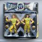wwe/wwf ljn hasbro classic superstars 2 pack the rockers shawn michaels & marty jannetty figures