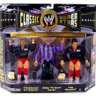 wwe/wwf ljn hasbro classic superstars 3 pack arn anderson, bobby heenan & tully blanchard figures