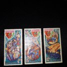 3 postage stamps of the USSR