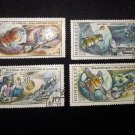 4 postage stamps of the USSR