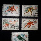 5 postage stamps of the USSR