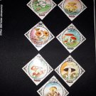 7 postage stamps of Mongolia.