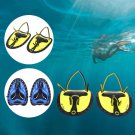 Swimming Paddles Fins Training Hand Webbed Gloves Flippers Adjustable Silicone
