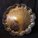 important  cake dish Old Sheffield Plate E.P.C