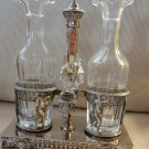 Antique Silver French Oil & Vinegar Cruet