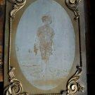 Vintage Tintype ferrotype Photo of child