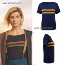 13th Dr Doctor Who RAINBOW T-SHIRT T Shirt Tee Jodie Whittaker Cosplay S to XXXL