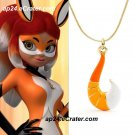 Fox Volpina Alya Pendant Necklace Trixx Kwami Miraculous Ladybug Cat Noir Anime Cosplay