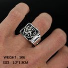 Game of Thrones Daenerys Targaryen Dragon Ring Ice and Fire and Blood Figure Ring