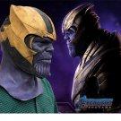 Avengers 4 EndGame THANOS Helmet Mask Infinity Gauntlet Marvel Superhero Cosplay