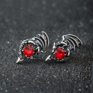 2019 Game of Thrones Daenerys Targaryen Crystal Dragon Stud Earrings
