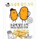 Master KIM Premium Real Potato Sticks Salted Snack 16g x 5 Sachets like Jaga pokkuru Calbee