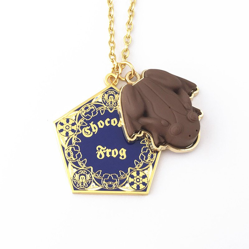 Universal Studios Wizarding World of Harry Potter CHOCOLATE FROG Necklace