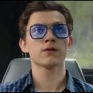 Tony Stark Edith Sunglasses Spider-Man Peter Parker Glasses Spider Man Far From Home Cosplay BLUE