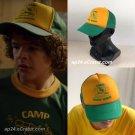Stranger Things 3 Dustin Hat Retro Mesh Trucker Cap Yellow Green 85 Know Where Baseball Cap